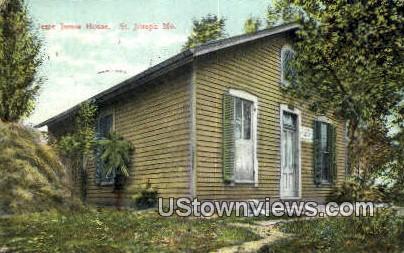 Jesse James House - St. Joseph, Missouri MO Postcard