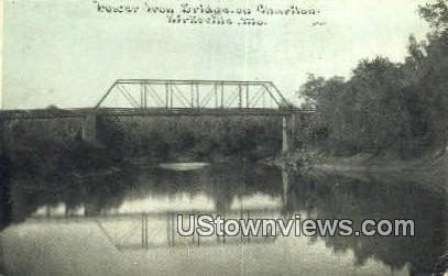 Bridge of Charlton - Kirksville, Missouri MO Postcard