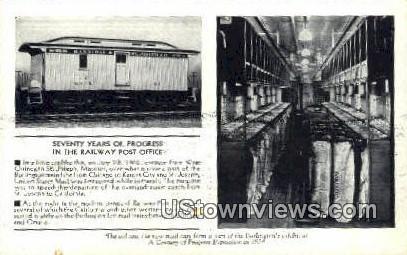 Railway Post Office - St. Joseph, Missouri MO Postcard