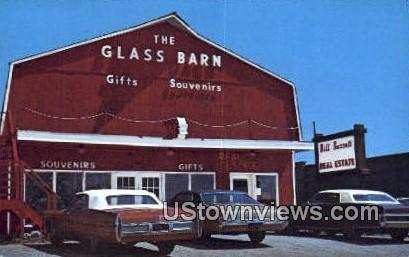 Glass Barn - Lake Ozark, Missouri MO Postcard