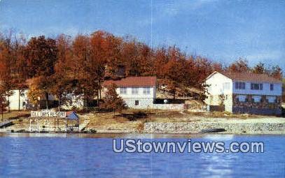 Idle Days Resort - Osage Beach, Missouri MO Postcard