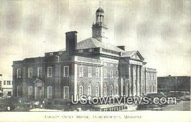 County Court House - Independence, Missouri MO Postcard