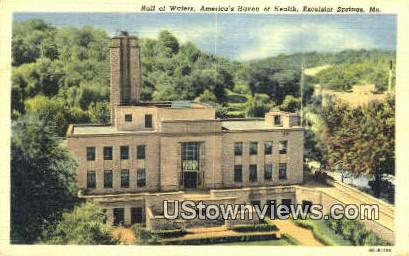 Hall of Water - Excelsior Springs, Missouri MO Postcard