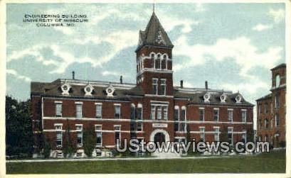 Engineering Bldg, University of Missouri - Columbia Postcard