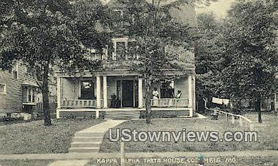 Kappa Alpha Theta House - Columbia, Missouri MO Postcard