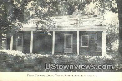 First Jackson Court House - Independence, Missouri MO Postcard