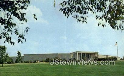 Harry S. Truman Library - Independence, Missouri MO Postcard