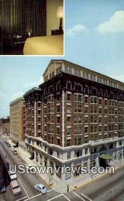 Connor Hotel - Joplin, Missouri MO Postcard