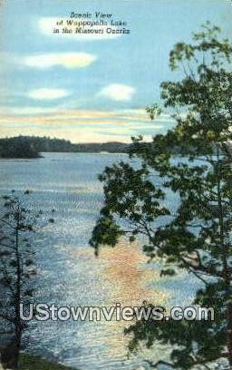 Wappapello Lake - Poplar Bluff, Missouri MO Postcard