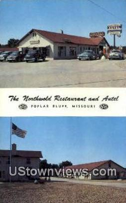Northwold Restaurant & Autel - Poplar Bluff, Missouri MO Postcard