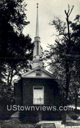 Grace Episcopal Church - Clarksville, Missouri MO Postcard