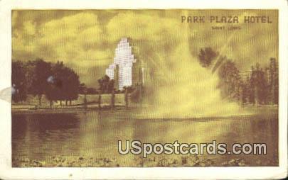 Park Plaza Hotel - St. Louis, Missouri MO Postcard