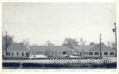 Mizzou Tourist Court - Columbia, Missouri MO Postcard
