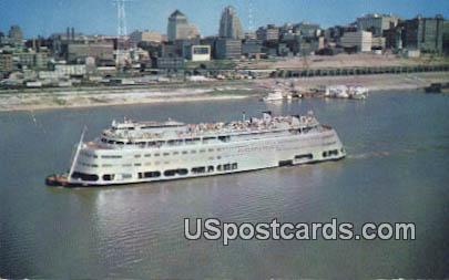 SS Admiral - St. Louis, Missouri MO Postcard