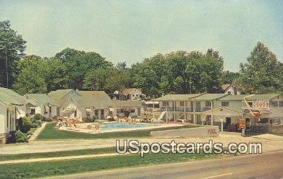 Branson Motel - Missouri MO Postcard
