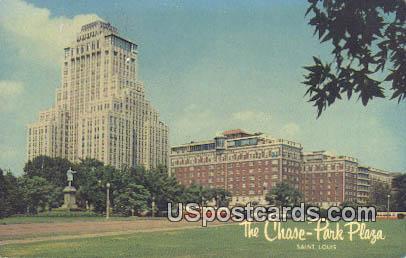 Chase Park Plaza - St. Louis, Missouri MO Postcard