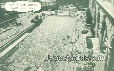 Chase Hotel Swimming Pool - St. Louis, Missouri MO Postcard