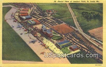 Lambert Field - St. Louis, Missouri MO Postcard