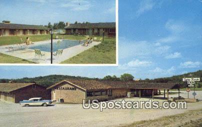 Table Rock Inn - Branson, Missouri MO Postcard