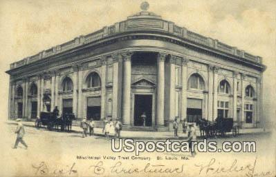 Mississippi Valley Trust Company - St. Louis, Missouri MO Postcard