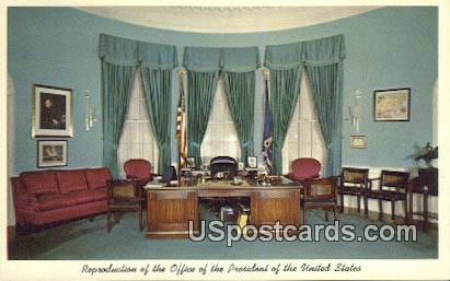 Reproduction of the Office - Independence, Missouri MO Postcard