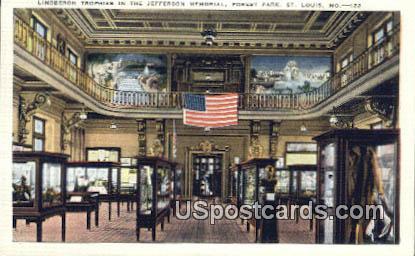 Jefferson Memorial, Forest Park - St. Louis, Missouri MO Postcard