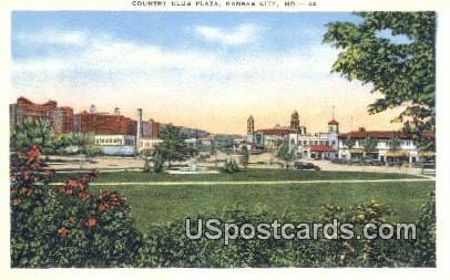 Country Club Plaza - Kansas City, Missouri MO Postcard