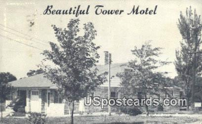 Tower Motel - St. Louis, Missouri MO Postcard