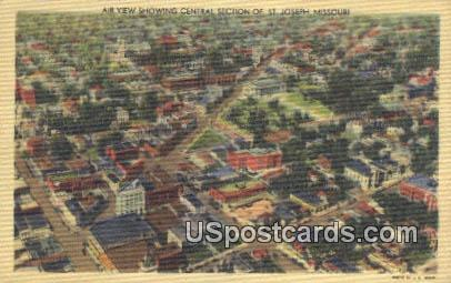 Central Section - St. Joseph, Missouri MO Postcard