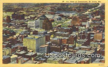 Downtown - St. Louis, Missouri MO Postcard