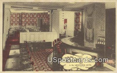 The Piccadilly, Melbourne Hotel - St. Louis, Missouri MO Postcard