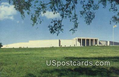 Harry S Truman Library - Independence, Missouri MO Postcard