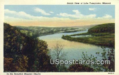 Lake Taneycomo, Missouri Postcard     ;     Lake Taneycomo, MO