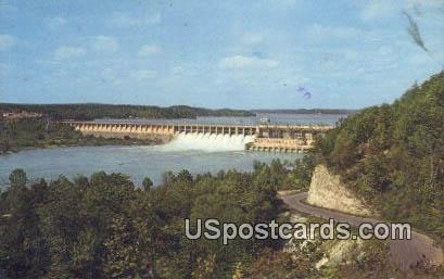 Bagnell Dam - Osage River, Missouri MO Postcard
