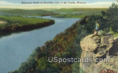 Kaysinger Blufs - Lake of the Ozarks, Missouri MO Postcard