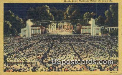 St. Louis Municipal Opera - Missouri MO Postcard
