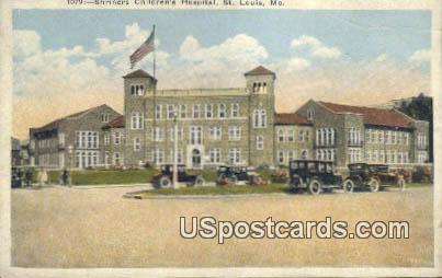 Shriners Children's Hospital - St. Louis, Missouri MO Postcard