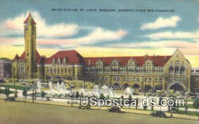 Union Station - St. Louis, Missouri MO Postcard
