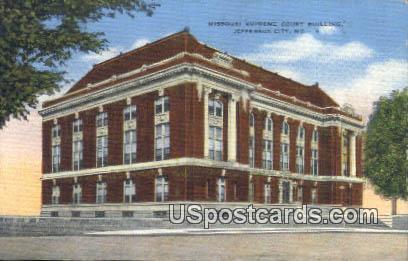 Missouri Supreme Court Building - Jefferson City Postcard