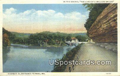 Noel, MO Postcard     ;          Noel, Missouri