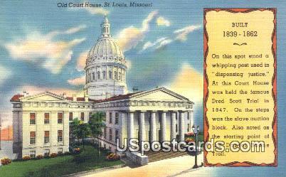 Old Court House - St. Louis, Missouri MO Postcard