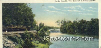 The Ozarks - Noel, Missouri MO Postcard