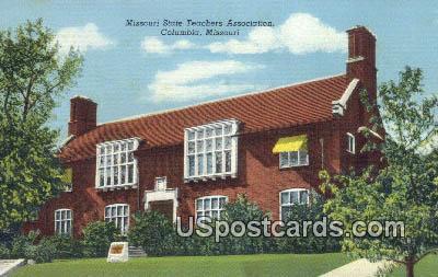 Missouri State Teachers Association - Columbia Postcard
