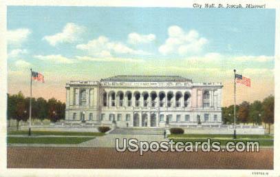 City Market - St. Joseph, Missouri MO Postcard