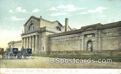 Art Museum, Forest Park - St. Louis, Missouri MO Postcard