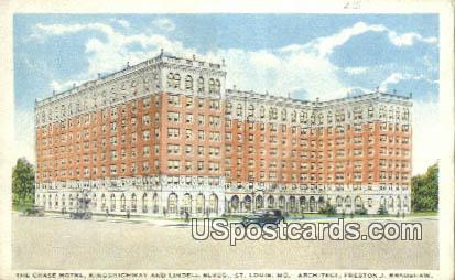Chase Hotel - St. Louis, Missouri MO Postcard