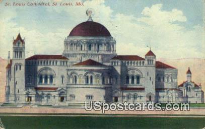 St Louis Cathedral - St. Louis, Missouri MO Postcard