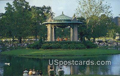 Concert in the Park - St. Louis, Missouri MO Postcard