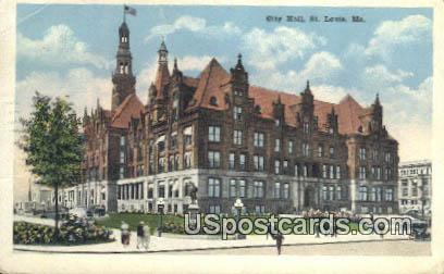 City Hall - St. Louis, Missouri MO Postcard