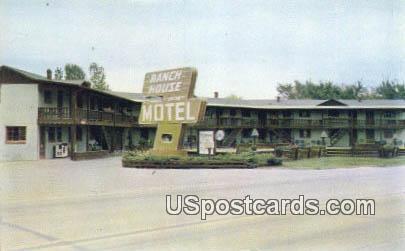 Ranch House - St. Joseph, Missouri MO Postcard